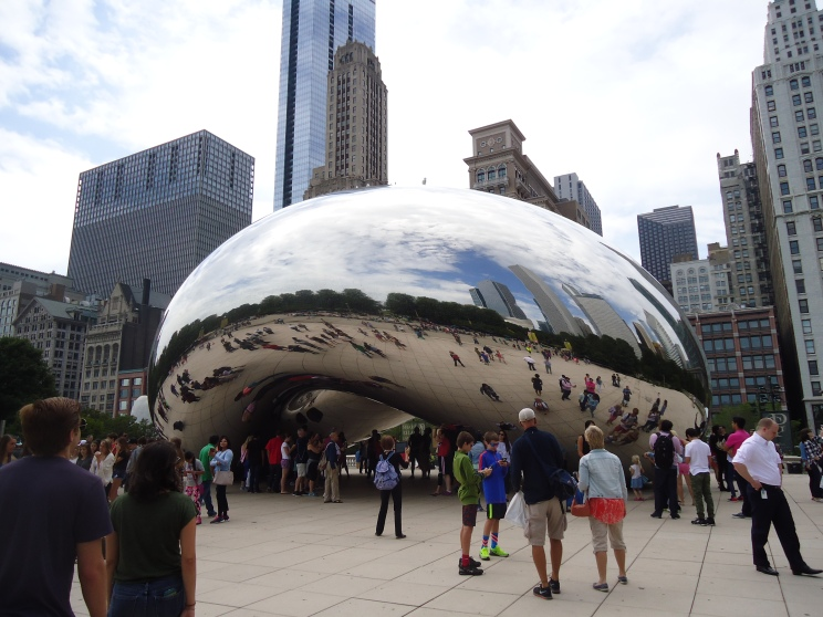 The Famous Bean or Cloudgate